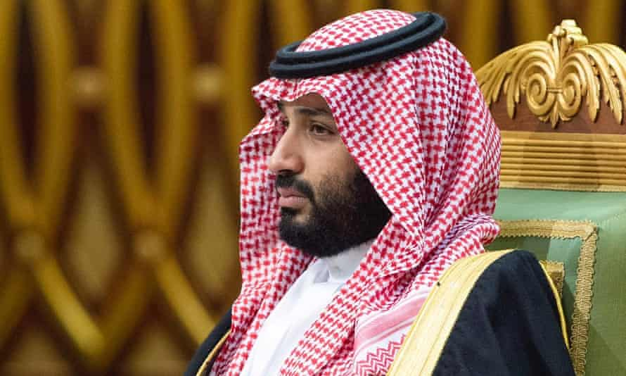 Saudi Arabia's crown prince, Mohammed bin Salman, was previously identified by the CIA director, Gina Haspel, as being at least partially responsible for Jamal Khashoggi's murder.
