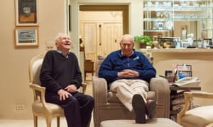 Mel Brooks, left, and Carl Reiner, best friends for 70 years.