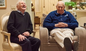 Reiner, right, in his home in January 2020 with Mel Brooks.