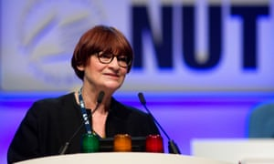 Christine Blower, general secretary of the NUT