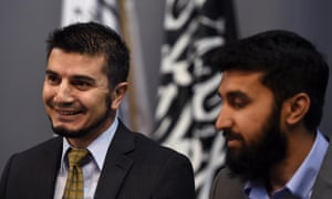 'No Hizb ut-Tahrir member has been prosecuted, let alone convicted, for any terrorism-related offence,' says Badar. He is pictured here with Wassim Doureihi in 2015.