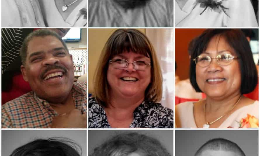 Some of the frontline medical workers who have died in the US due to Covid-19 complications.