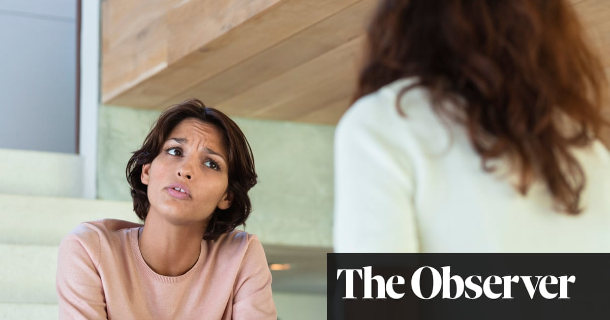 My oldest friend is invading my space – now even at work | Dear Mariella