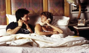 Carrie Fisher with Bruno Kirby in When Harry Met Sally: her most human, accessible role.