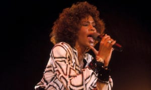 Euphoric loneliness … Whitney Houston