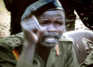 Screengrab of Joseph Kony, from 2006