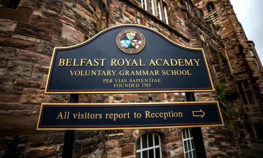 The Belfast Royal Academy in Northern Ireland is making face marks compulsory for both students and staff.