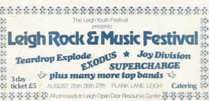 Ticket for the 1979 Leigh Rock & Music festival.