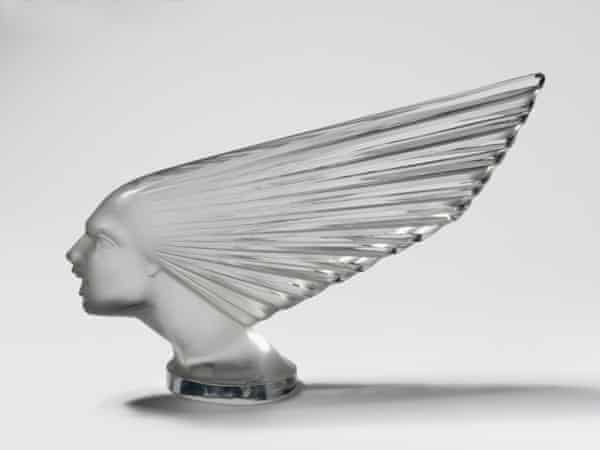 The Victoire radiator mascot by Lalique, c1925.