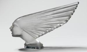 Victoire mascot, designed by René Jules Lalique