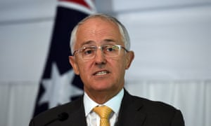 The prime minister, Malcolm Turnbull