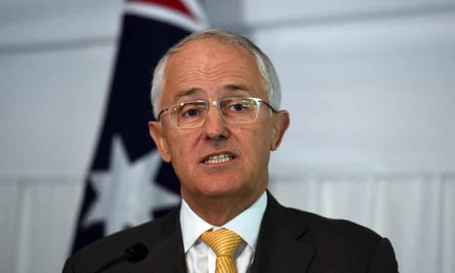 The prime minister, Malcolm Turnbull