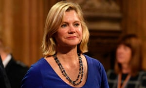 'Justine Greening, the former Tory cabinet minister, tellingly complained that this was like being asked to buy a house without being allowed to see it.'