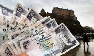 A fierce debate rages over wealthy Scottish taxpayers flee if a 50p rate is introduced.