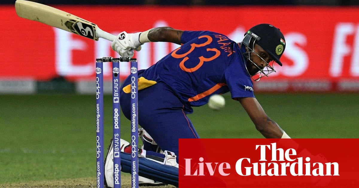 India set Pakistan target of 152: T20 World Cup – live!
