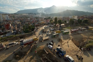 Bhai Kaji Tiwari, development commissioner of the Kathmandu Valley Development Authority dismissed the concerns of anti-road expansion groups, saying: '[Opponents of the road expansion] are angry now, but afterwards they will enjoy it. It will be good for business and the environment will be better'