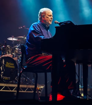 Brian Wilson of the Beach Boys at the Together The People festival in Preston Park, Brighton, last month
