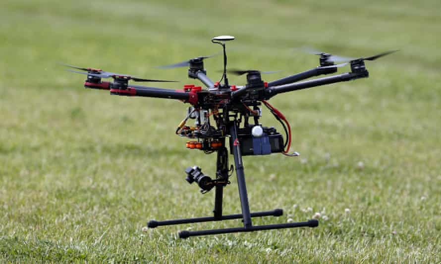 Bob Young, CEO of PrecisionHawk, said registration might include some kind on license plate on the drone itself: 'it's as stupidly easy as that'.