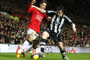 Jose Enrique in action for Newcastle in 2008