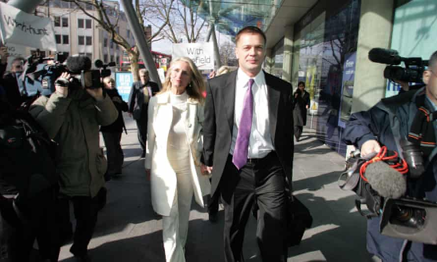 Andrew Wakefield and his wife Carmel arriving at a GMC disciplinary meeting in 2007.