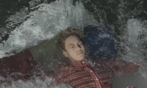 Beyoncé goes under the water in New Orleans at the end of the video for her new single Formation.