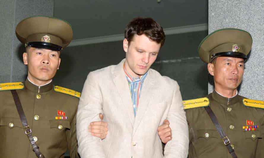 Otto Warmbier died after being held in a North Korean prison.