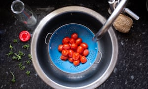 Cooking tomato vines into a sauce gives a great boost of flavour – try it to make your own passata