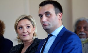 'Marine Le Pen described their meeting as an intellectual love at first sight. Soon they were finishing each other's sentences.'