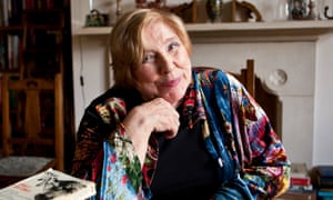 Fay Weldon photographed at her home in Dorset.