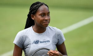 Gauff is the youngest player ever to qualify for the main draw at Wimbledon.