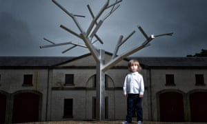 Antony Gormley's tree will be part of the Walking for Waiting for Godot event.