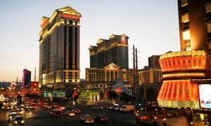 Caesar's Palace in Las Vegas, where Durham University spent £2,614.