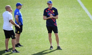 Wayne Bennett (right) is out of contract and a decision will be made in the new year whether to reappoint him as England's coach.