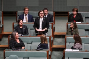 The member for Batman Ged Kearney makes her first speech in parliament house Canberra this afternoon.
