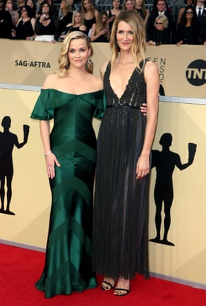 Reese Witherspoon and Laura Dern from Big Little Lies