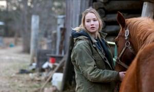 Jennifer Lawrence in Winter's Bone.