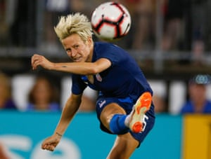 Megan Rapinoe remains a creative focal point for the US