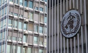 The World Health Organization headquarters in Geneva, Switzerland.