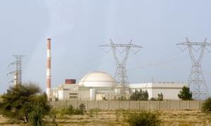 Nuclear power plant in Bushehr
