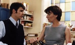 Daniela Nardini with Jack Davenport … 'I enjoyed the underlying tension and sexual attraction that ran through both series with Miles.'