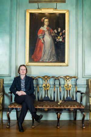 Dame Helen Ghosh, director general of the National Trust, at Upton House, Warwickshire.