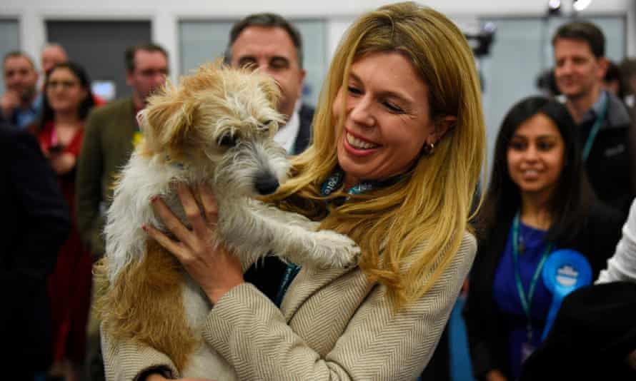 Carrie Symonds has been a staunch critic of the badger cull.