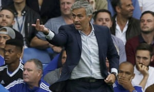 Chelsea's José Mourinho will have only four players at Chelsea during the international break