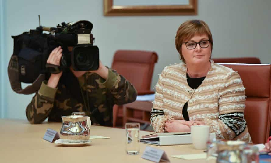 Minister for the national disability insurance scheme, Linda Reynolds.
