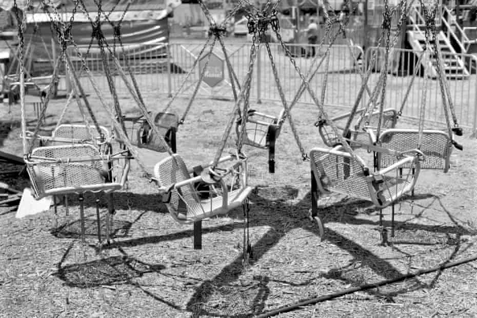 Silent swing … from In the Gold Dust Rush.