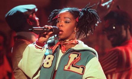 Lauryn Hill in 1998.