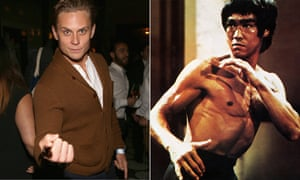 Billy Magnussen and Bruce Lee composite photo