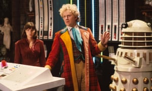 Colin Baker as the Doctor in the television series Doctor Who.