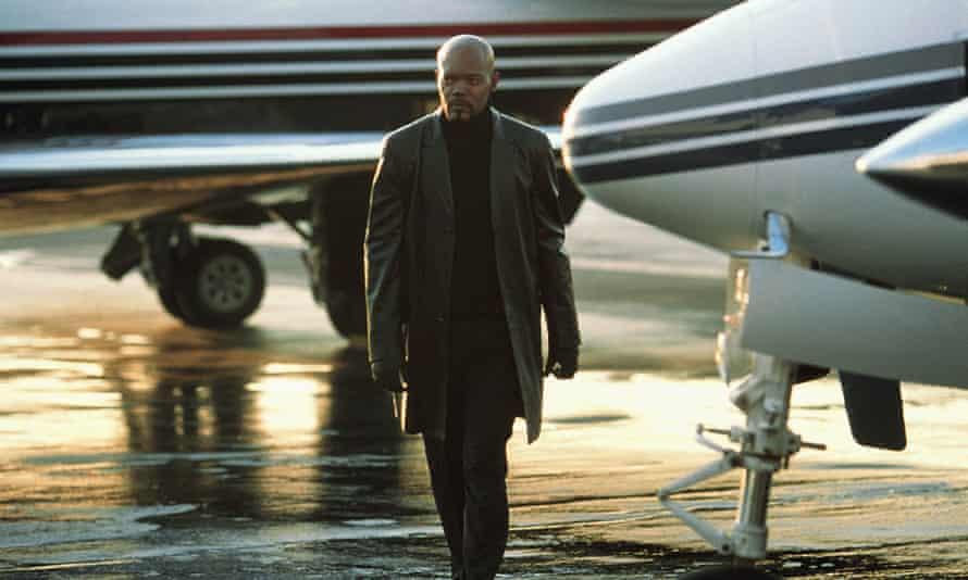 Samuel L Jackson as New York City police detective John Shaft in John Singleton's 2000 reboot-cum-sequel Shaft.