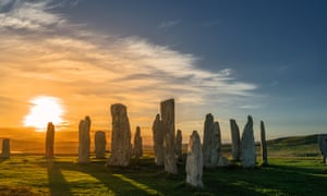Standing stones on the Isle of Lewis.